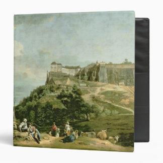 The Fortress of Konigstein, 18th century Vinyl Binder
