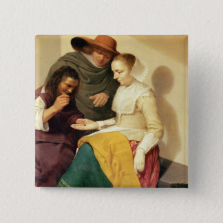 The Fortune Teller, 1631 Pinback Button