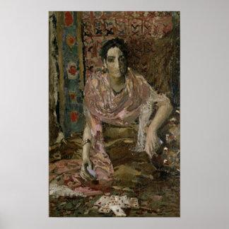 The Fortune Teller, 1895 Poster