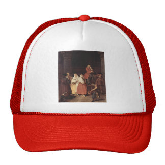 The Fortune Teller by Pietro Longhi Trucker Hats