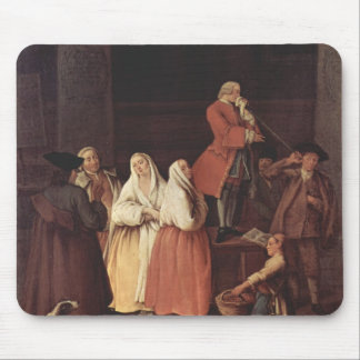 The Fortune Teller by Pietro Longhi Mousepad