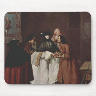 The Fortune Teller by Pietro Longhi Mousepads