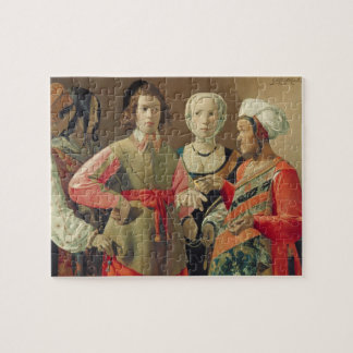 The Fortune Teller, c.1630 (oil on canvas) (see 19 Jigsaw Puzzle