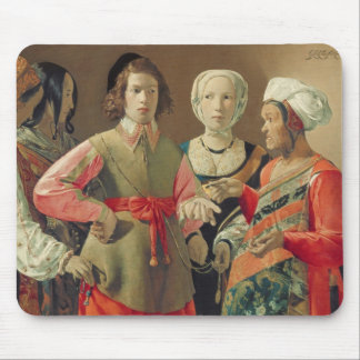 The Fortune Teller, c.1630 (oil on canvas) (see 19 Mouse Pad