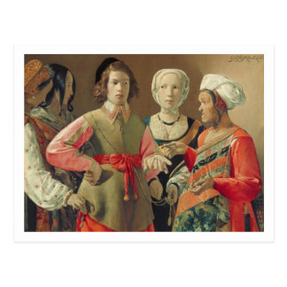 The Fortune Teller, c.1630 (oil on canvas) (see 19 Postcard