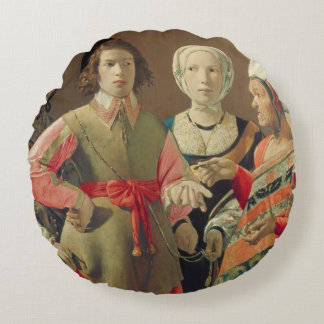 The Fortune Teller, c.1630 (oil on canvas) (see 19 Round Pillow