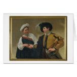 The Fortune Teller (La Buona Ventura), c.1594 Card