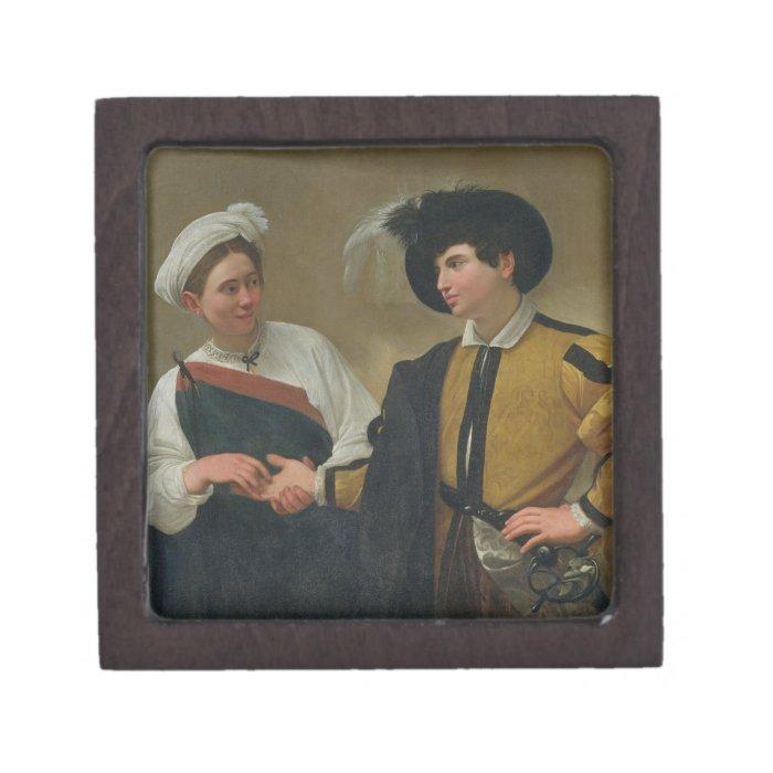 The Fortune Teller (La Buona Ventura), c.1594 Jewelry Box