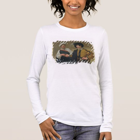 The Fortune Teller (La Buona Ventura), c.1594 Long Sleeve T-Shirt