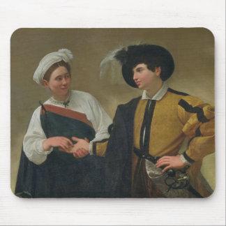 The Fortune Teller (La Buona Ventura), c.1594 Mouse Pad