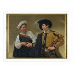 The Fortune Teller (La Buona Ventura), c.1594 Postcard