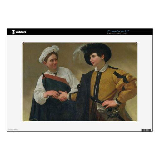 "The Fortune Teller (La Buona Ventura), c.1594 Skin For 15"" Laptop"