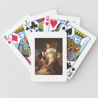 The Fortune-teller (L'Indivona), 1740 Bicycle Playing Cards