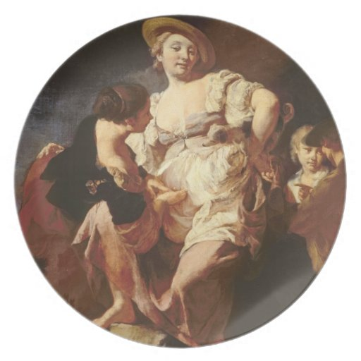 The Fortune-teller (L'Indivona), 1740 Party Plate