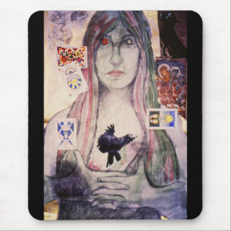 The Fortune Teller, orignial art by Brad Ashlock Mouse Pad