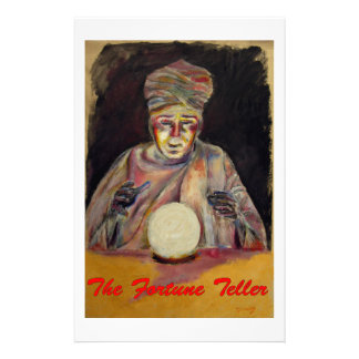 The Fortune Teller Stationery