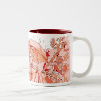 The Fortune Teller Two-Tone Coffee Mug