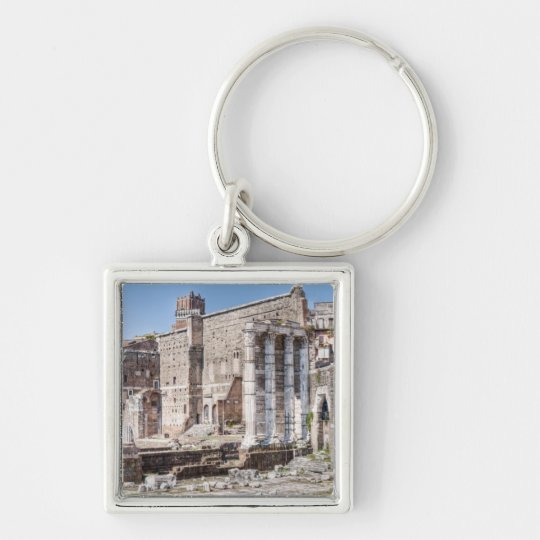 The Forum of Augustus is one of the Imperial 3 Keychain