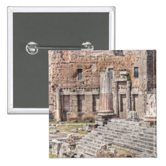 The Forum of Augustus is one of the Imperial 4 Pinback Button