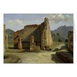 The Forum of Pompeii Card