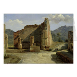 The Forum of Pompeii Greeting Card