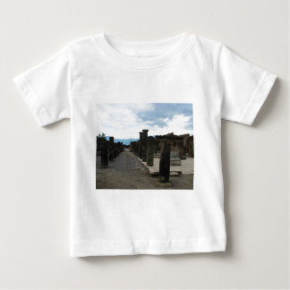 The FORUM OF POMPEII - Column fragments Baby T-Shirt