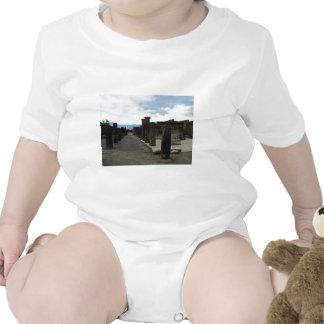 The FORUM OF POMPEII - Column fragments Baby Bodysuits