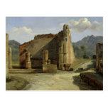 The Forum of Pompeii Post Card