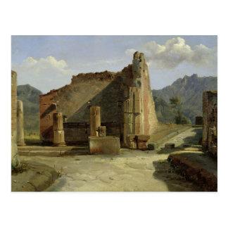 The Forum of Pompeii Postcard