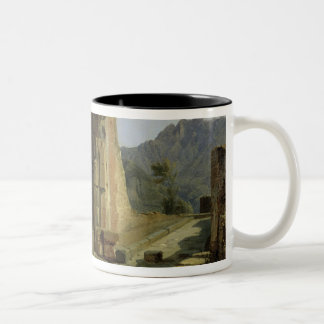 The Forum of Pompeii Two-Tone Coffee Mug