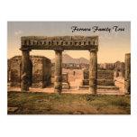 The Forum, Pompeii, Campania, Italy Postcard