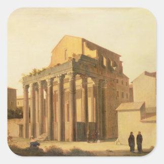 The Forum, Rome Square Sticker