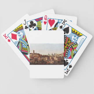 The Forum seen from the Farnese Gardens, Rome Bicycle Playing Cards