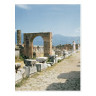 The Forum with the mountains in the background Postcard