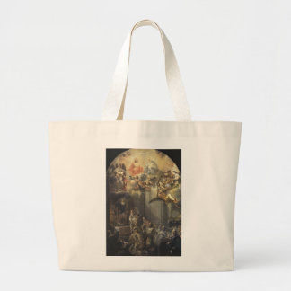 The Foundation Mass of the Order of Trinitarians Canvas Bags
