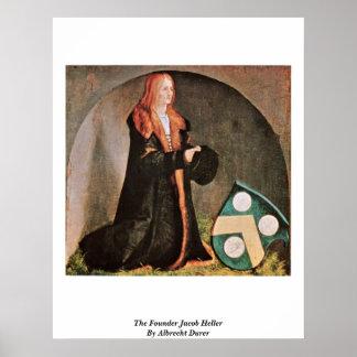 The Founder Jacob Heller By Albrecht Durer Posters