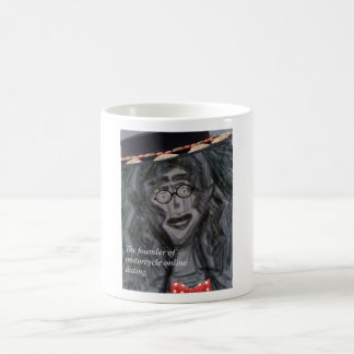 The Founder Of Motorcycle Online Dating Coffee Mug