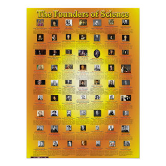 The Founders of Science Poster