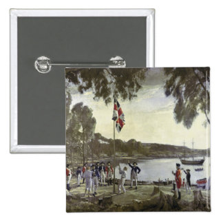 The Founding of Australia by Capt. Arthur Pinback Button