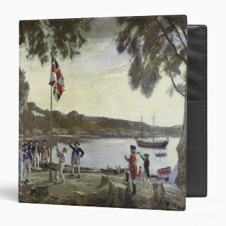 The Founding of Australia by Capt. Arthur Vinyl Binder