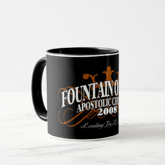 """The Fountain """"Leading By Example"""" Mug"""