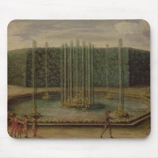 The Fountain of Bacchus at Versailles Mouse Pad