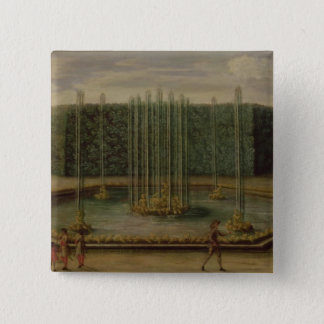 The Fountain of Bacchus at Versailles Pinback Button