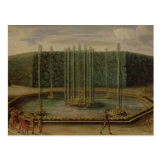 The Fountain of Bacchus at Versailles Postcard