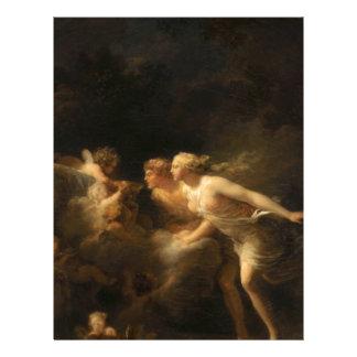 The Fountain of Love by Jean-Honore Fragonard Letterhead
