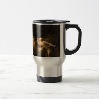The Fountain of Love by Jean-Honore Fragonard Travel Mug
