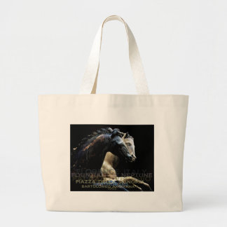 The Fountain of Neptune -Sea-horses Canvas Bags