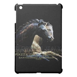 The Fountain of Neptune -Sea-horses iPad Mini Covers