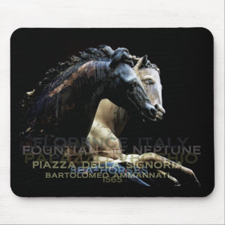 The Fountain of Neptune -Sea-horses Mouse Pad