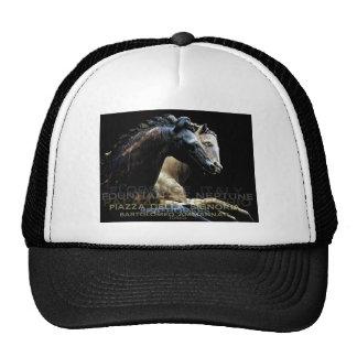 The Fountain of Neptune -Sea-horses Trucker Hat